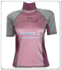 UV50+ short sleeve lycra rash guard shirt -096