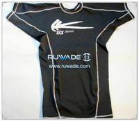 UV50+ short sleeve lycra rash guard shirt -097