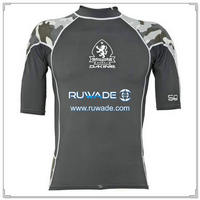 UV50+ short sleeve lycra rash guard shirt -099