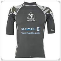 UV50   半袖ライクラ発疹ガード シャツ -099