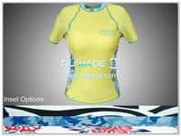 UV50+ short sleeve lycra rash guard shirt -103