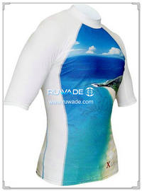 UV50+ short sleeve lycra rash guard shirt -105