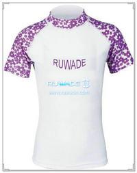 UV50+ short sleeve lycra rash guard shirt -109