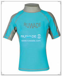 UV50   Lycra rash Guard Kurzarm -111