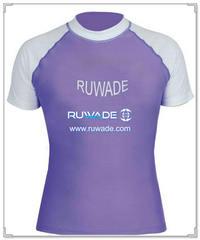 UV50+ short sleeve lycra rash guard shirt -114