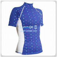 UV50   mulheres camisa de manga curta lycra protetor do prurido -136