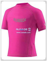 UV50   femmes chemise à manches courtes lycra rash guard -175
