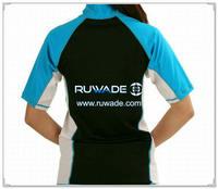 UV50+ women short sleeve lycra rash guard shirt -180