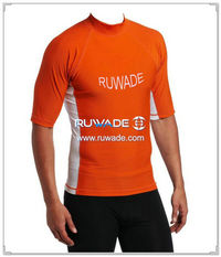 UV50+ men short sleeve lycra rash guard shirt -184