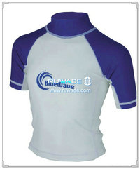 UV50+ short sleeve lycra rash guard shirt -191