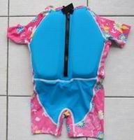 UV 50+ Children float swim suit -001