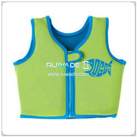 Neoprene children kids swim vest -003