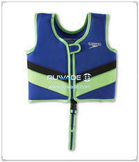 Neoprene children kids swim vest -004