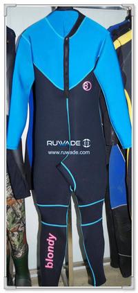Full wetsuit back zipper -135