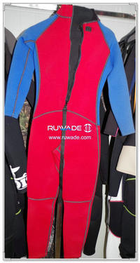Full wetsuits back zipper -142