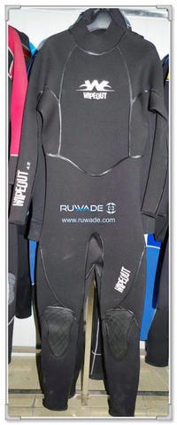 5mm liquid strap full wetsuits back zipper -145