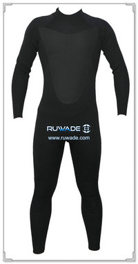 3/4mm full men wetsuits back zipper -147