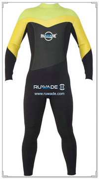 3/4mm full women wetsuits back zipper -149