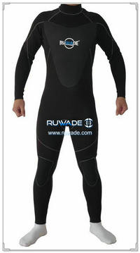 3/4mm full men wetsuits back zipper -150