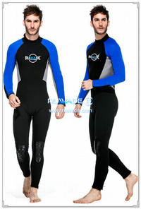 wetsuits cheios de volta do zipper -151