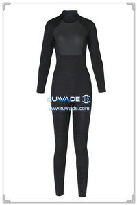3mm full wetsuits back zipper -152