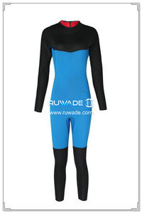 3mm full wetsuits back zipper -153