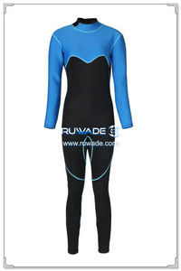 3mm full wetsuits back zipper -156