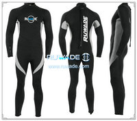 wetsuits cheios de volta do zipper -157