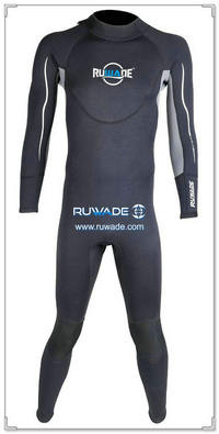wetsuits cheios de volta do zipper -158