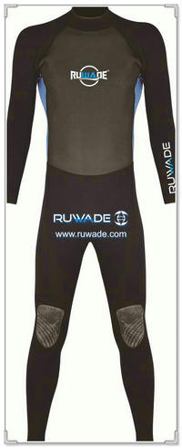 Full diving wetsuits back zipper -159