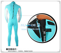 Full diving wetsuits back zipper -162