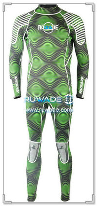 Wetsuits de mergulho cheios de volta do zipper -164