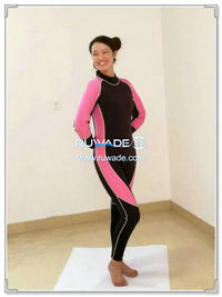 Full diving wetsuits back zipper -167