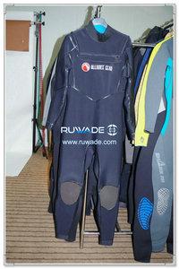Neoprene chest zip surfing suit -001-1