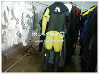 Steamer wetsuit chest zip -005