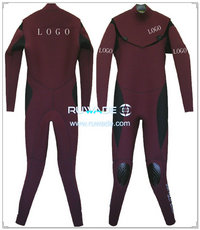 Neoprene windsurfing suit with chest zip -006-1