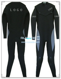 Neoprene windsurfing suit with chest zip -006-3