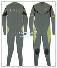 Neoprene windsurfing suit with chest zip -006-4