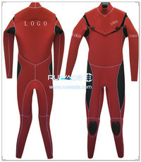 Neoprene windsurfing suit with chest zip -006-5