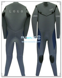 Neoprene windsurfing suit with chest zip -006-6