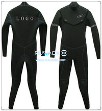 Neoprene windsurfing suit with chest zip -006-7