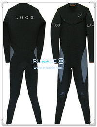 Chest zip full suit -010