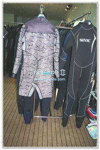 Chest zip neoprene windsurfing suit -011-1