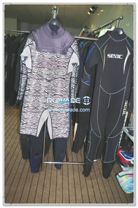 Chest zip neoprene windsurfing suit -011-2