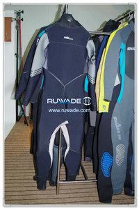Peito zip wetsuit de mergulho scuba -012