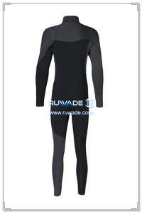 Chest zip neoprene surfing suit -013-02