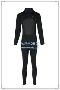 Chest zip neoprene surfing suit -014-01