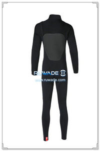Chest zip neoprene surfing suit -014-02