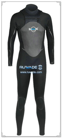 Chest zip neoprene surfing suit -015-1