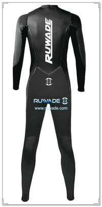 Chest zip neoprene surfing suit -015-2